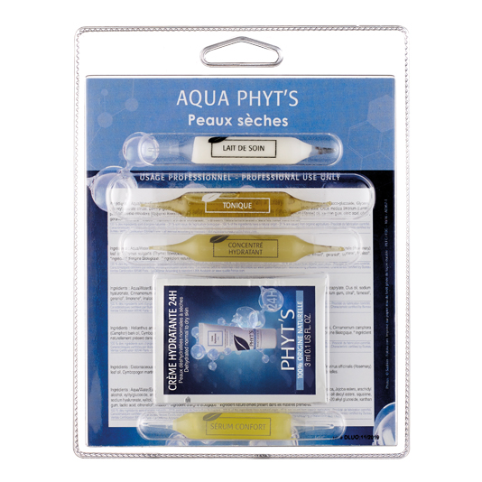 Soin visage Aqua Phyt's peaux sèches à déshydratées