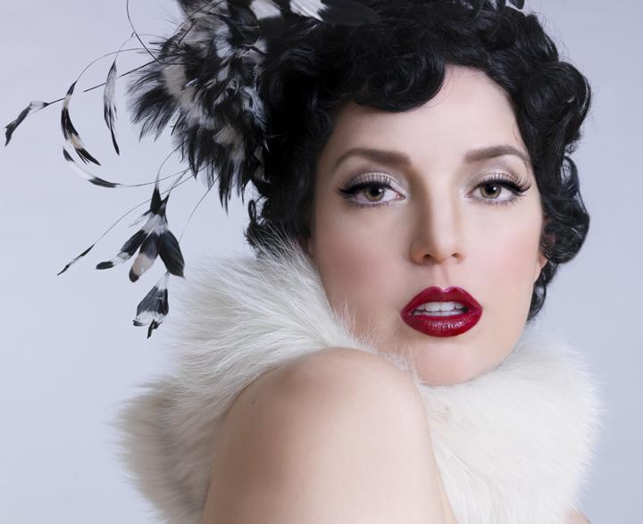 Work of the make-up artist Anabel Vargas