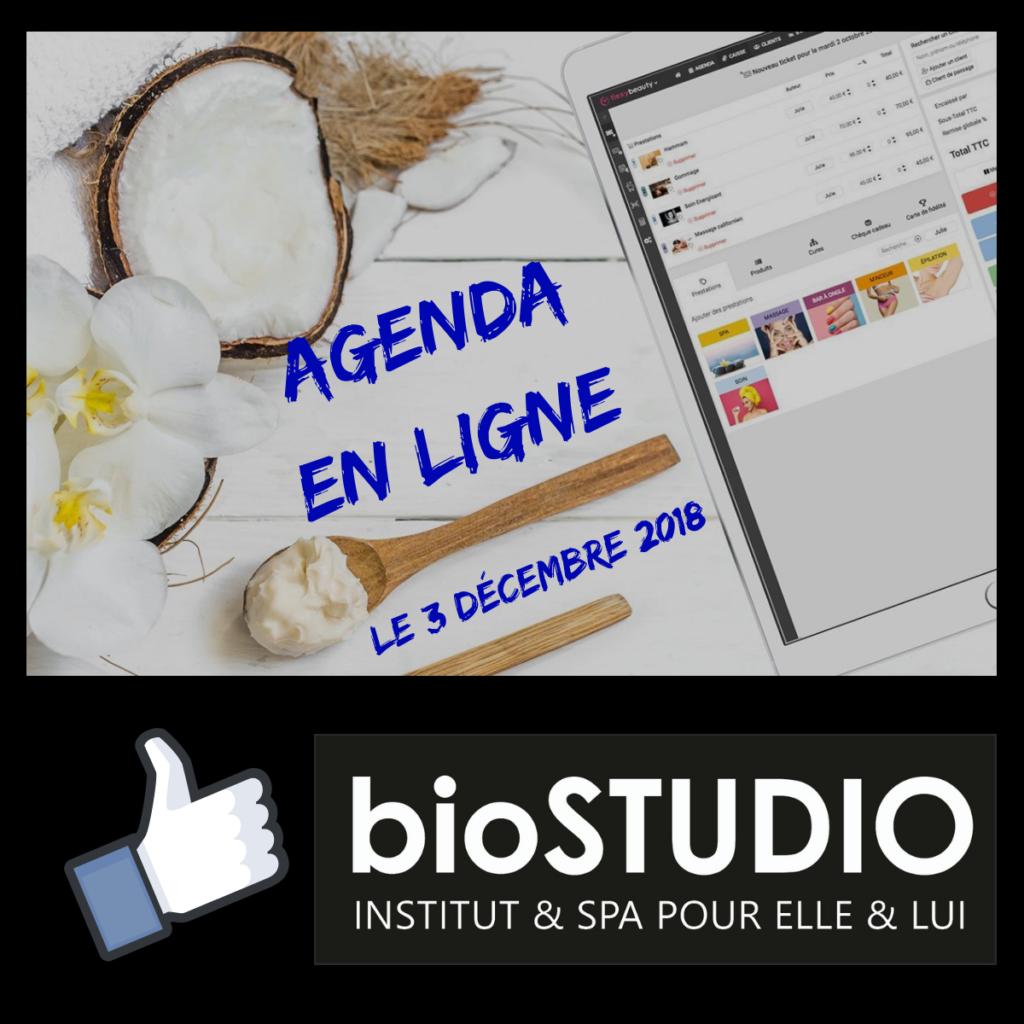Agenda en ligne lundi 3 Décembre 2018 !
