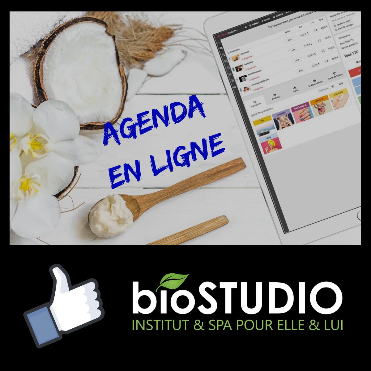 Agenda en ligne le 3 décembre 2018 - BioStudio institut de beauté pour lui et pour elle à Dijon